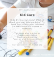 RPT's Healthy Habits - Kid Care